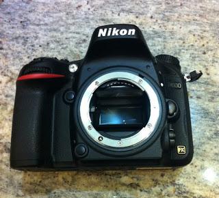 Monture Nikon sur le D600