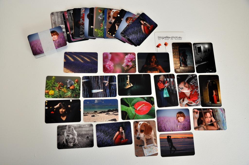 Bekannt Cartes de visite pour photographes par Moo JM79