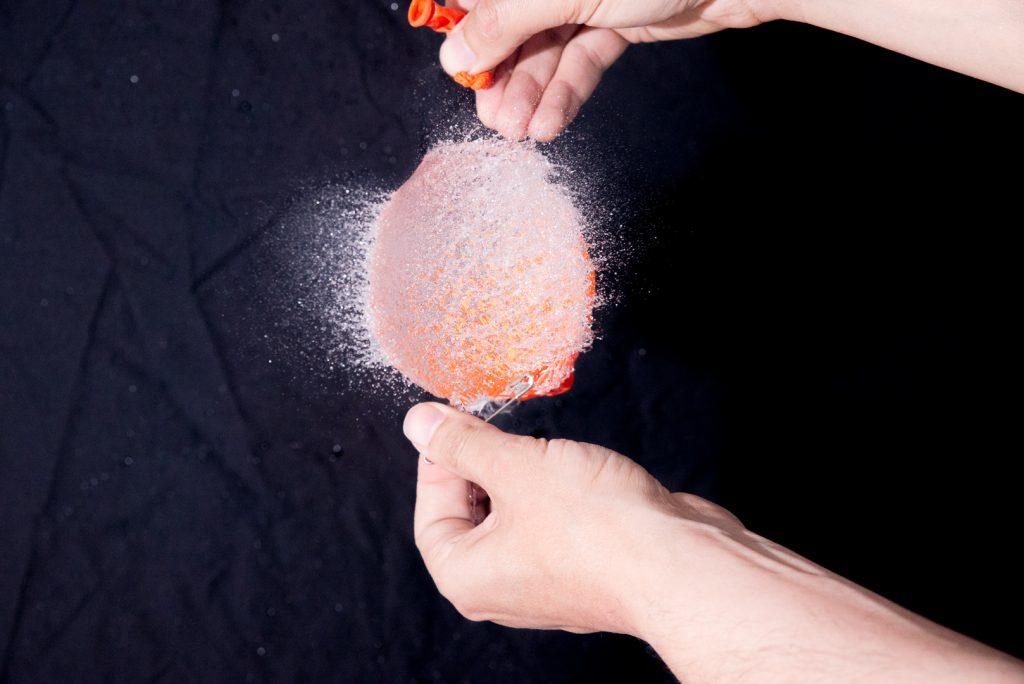 Test Pluto Trigger ballon et eau