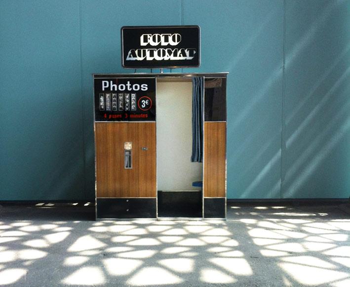 """Cabine photo """"Foto Automat"""""""